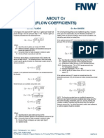 ABOUT Cv (FLOW COEFFICIENTS)