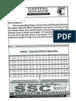 ssc cgle 2012 english answer key