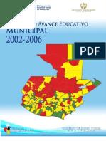 Índice de Avance Educativo Municipal Guatemala