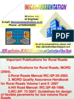 MoRD Specifications and Manual - Rural Road Construction PDF