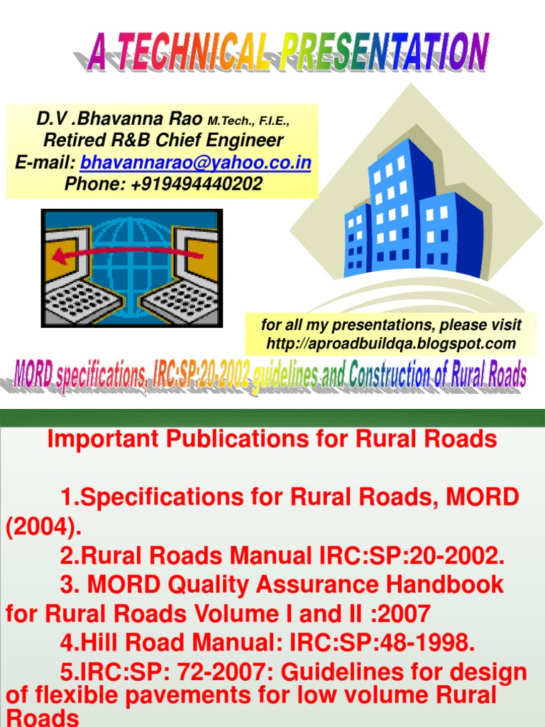 mord specifications and manual rural road construction pdf road rh es scribd com Casio Sp 20 Sustain Pedal irc sp 20-2002 rural road manual free download