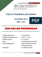 Assignment Hbef1403