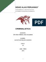 CRIMINALISTICA. ACTIVIDAD. (1)