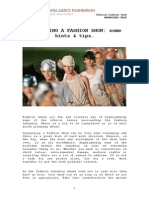 Ef j Fashion Show Guide