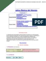 Aleman Gramatica Basica