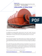 Tire Recycling Machine of Doing Group