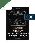Neufert - Elementi Arhitektonskog Projektiranja