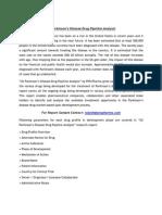 US Parkinson's Disease Drug Pipeline Analysis