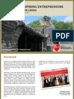 ACE Info Kit for Aspiring Entrepreneurs Doing Business in China