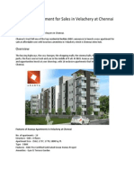 BBCL - Ananya Apartment for Sale in Velachery at Chennai