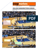 HoopNotes - 3 Jan 14 - T'Wolves Kevin Love Misdirection Screen