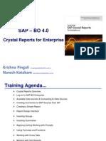 SAP Crystal for Enterprise 4 0