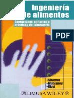 Ingeniería de Alimentos - Operaciones Unitarias y Prácticas de Laboratorio (Sharma, Mulvaney & Rizvi) ~1