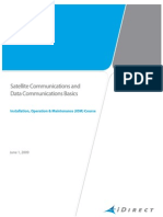 Satellite Communication and Data Communications Basics