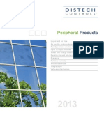 Distech Controls. Peripheral Catalogue 2013