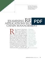 Examining RFID Applications in SCM.july 2007