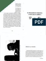 Kusch Rodolfo - El Pensamiento Indigena y Popular en America (1971)