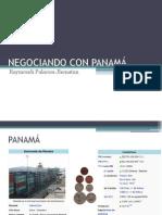 NEGOCIANDO CON PANAMÁ