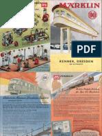 Maerklin Katalog 1940 De