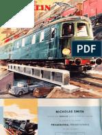 Maerklin Katalog 1958 En