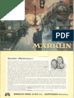 Maerklin Katalog 1952 ES