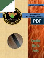 Wooden Decorative Coasters