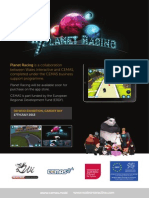 Planet Racer launch brochure (English and Welsh)