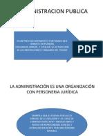 La Administracion Publica