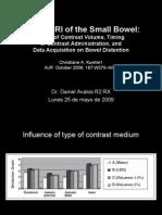 Hydro-MRI of the Small Bowel