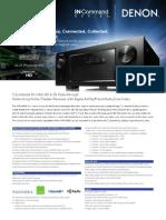 Specification Sheet - English_AVR-X4000
