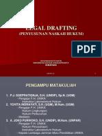 Legal Drafting Mahukes Unika
