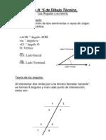 Guía N ° 5 de Dibujo Técnico ( Los Ángulos y su teoría.)
