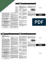 Escala de cor Opallis - Manual de Instruções
