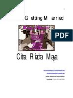 Citra Rizcha Maya - Dara Getting Married