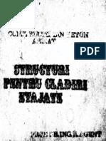 Structuri Pentru Cladiri Etajate - An 1984