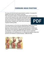 Causes of Forward Head Position
