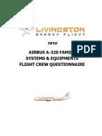 A320 QUESTIONNAIRE1