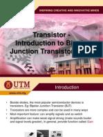 Transistor Intro