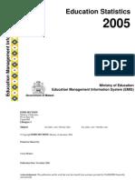 Education Statiistic 2005