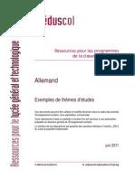 LyceeGT Ressources LV 2 Exempletheme Allemand 182725
