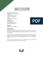 Schoko Baileys Kuchen