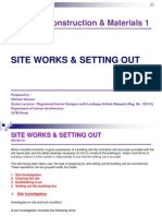 Ina105.Site Works & Setting Out
