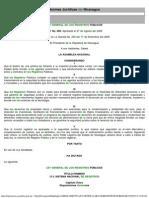 LEY GENERAL DE LOS REGISTROS PÚBLICOS - LEY 698
