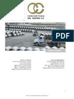 Catalogo Concretera Del Centro