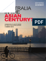 Submission to Asian Century White Paper