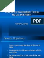 RULA REBA Presentation
