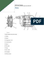 Bomba Hidraulica Pistones D6R