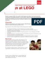 PDF Design at Lego