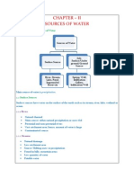 Sources of Water (Water Supply Engineering)
