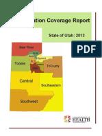 2013 Immunization Coverage Report